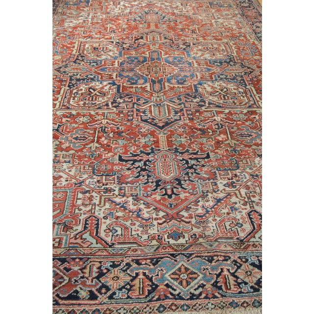 Vintage Heriz Carpet- 8′2″ × 11′ - Image 5 of 8