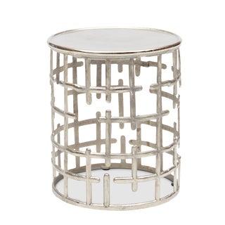 Kiaan Side Table in Silver