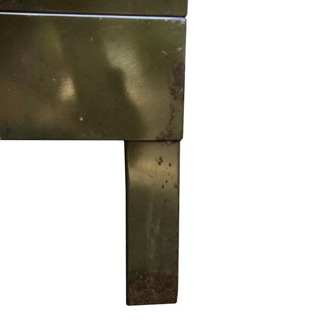 Vintage Industrial Addressograph Steel Metal 18-Drawer Catalogue File Cabinet For Sale - Image 4 of 10
