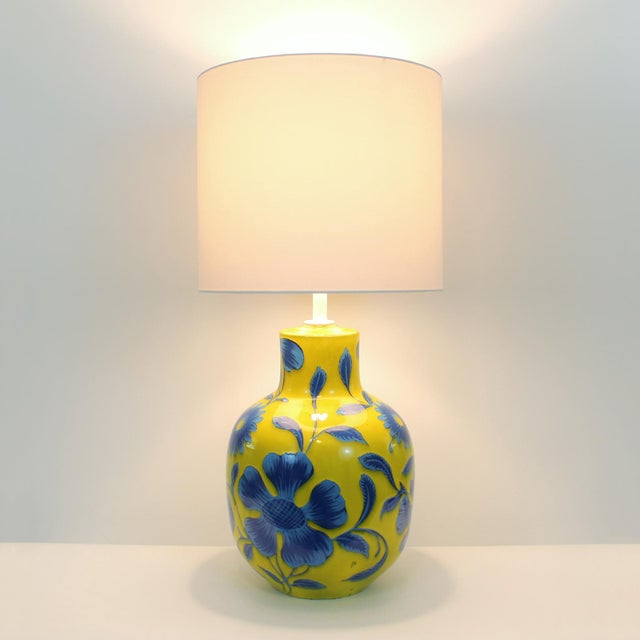 Alvino Bagni for Raymor Pottery Lamp For Sale - Image 7 of 7