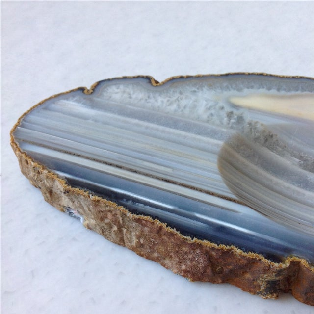 Striped Agate Quartz Dish - Image 5 of 11