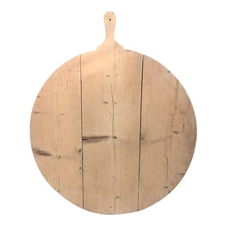 Antique French Wood Charcuterie Board For Sale
