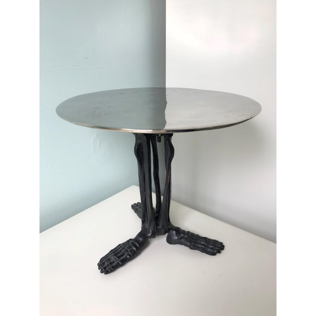 Skeleton Feet Cake Stand For Sale - Image 9 of 9