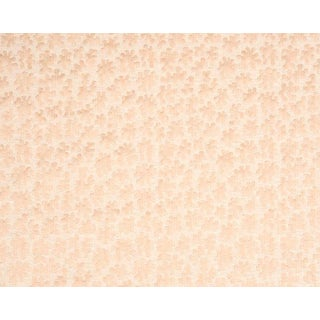 Hinson for the House of Scalamandre Joanna Fabric in Peach For Sale