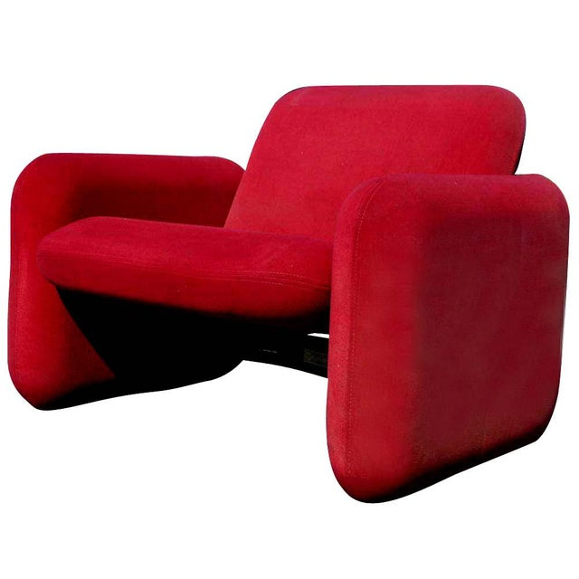 Modern 1 Herman Miller Ray Wilkes Chiclet Lounge Chair For Sale - Image 3 of 6