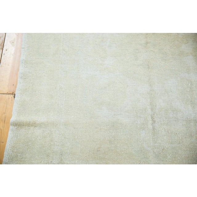 """Distressed Oushak Rug - 4'6"""" X 8' For Sale - Image 9 of 13"""