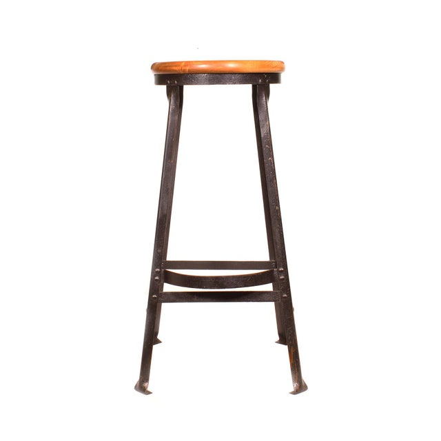 Factory Shop Stool For Sale - Image 4 of 13