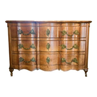 18th Century Louis XV Provincial Walnut Arbalète Commode For Sale