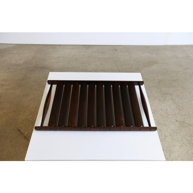 Slatted Rosewood Tray by Jens Quistgaard for Dansk.
