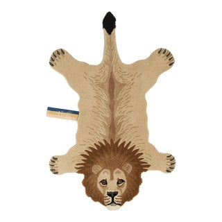 Doing Goods Moody Lion Rug Large For Sale