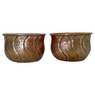 Vintage Indian Brass Planters/Cachepots