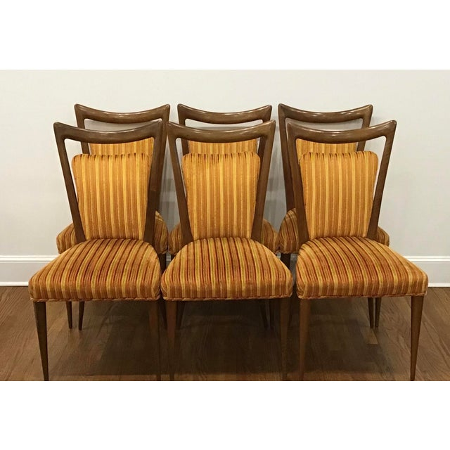 1950's Mid-Century Erno Fabry Dining Chairs- Set of 6 For Sale - Image 11 of 13