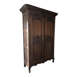 18th Century French Normandy Wedding Armoire