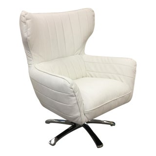 Modern Bonded Leather Swivel Chair
