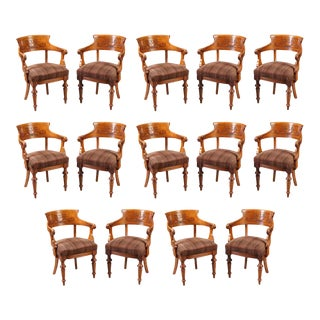 Early 20th Century Dining Chairs - Set of 14 For Sale