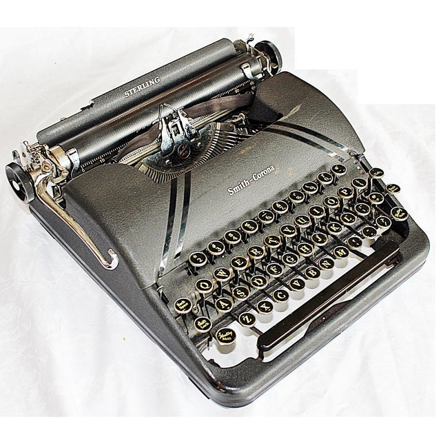 Smith-Corona Sterling Typewriter - Image 2 of 10