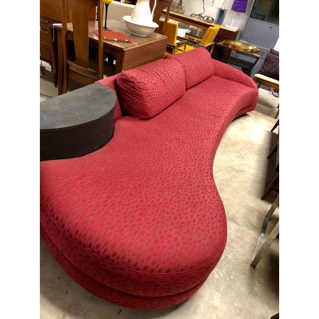 Mid 20th Century Vintage Mid Century Adrian Pearsall Curved Sofa For Sale - Image 5 of 8