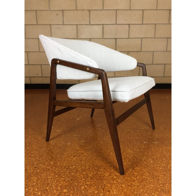Mid-Century Modern Gio Ponti for Singer & Son Lounge Chair For Sale - Image 11 of 11