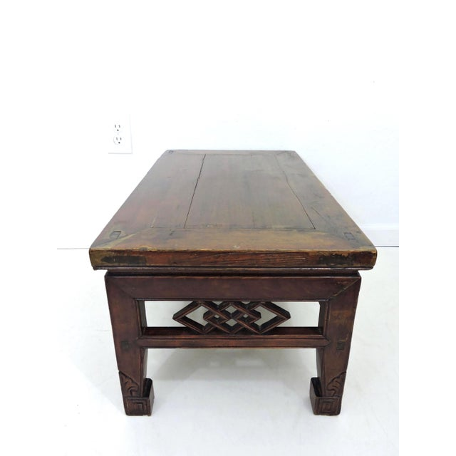 Antique Chinese Wood 'Opium' Side or Coffee Table, 19th Century For Sale - Image 4 of 6
