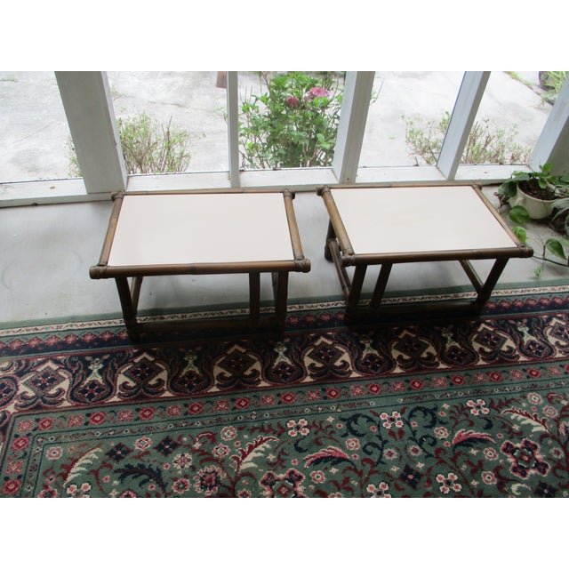 Mcguire Of San Francisco Coffee Tables Set Of 3 Chairish