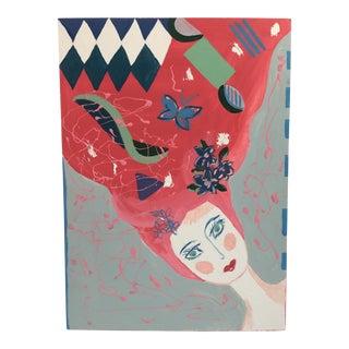 "Anastasia George Original ""Juliette"" Acrylic Painting"