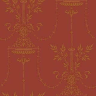 Cole & Son Dorset Wallpaper Roll - Rouge For Sale