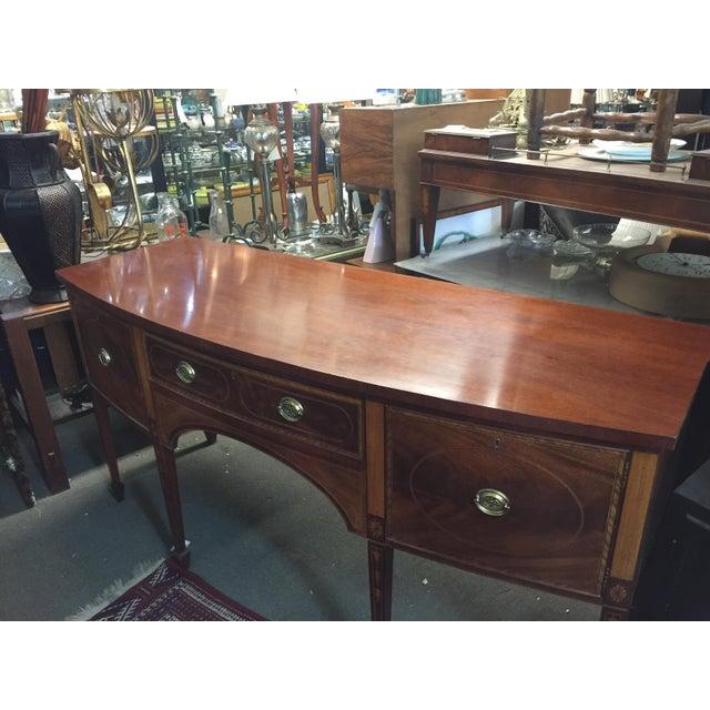 Baker Furniture Sideboard Colonial Williamsburg - Image 9 of 10