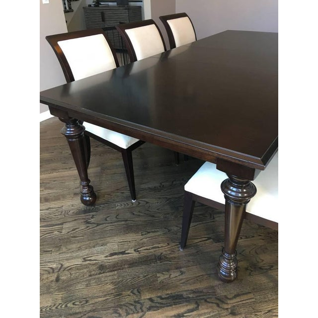 Bernhardt & Martha Stewart Wood Dining Table