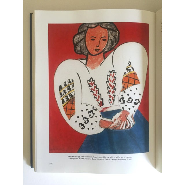 """Blue """" Matisse Retrospective """" Rare 1990 Iconic Oversized Volume Collector's Hardcover Art Book For Sale - Image 8 of 13"""