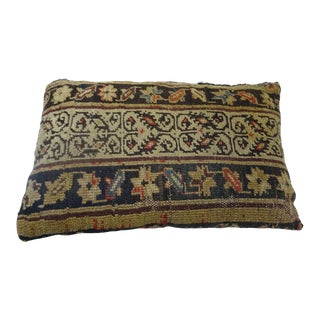 Antique Handmade Rug Pillow For Sale