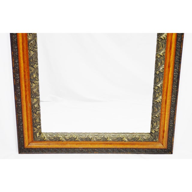 Decorative Wood Gesso Mirror - Image 9 of 11