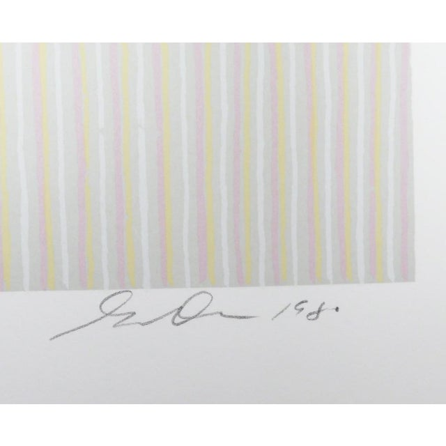 Lithograph on Arches paper 14 × 20 in 35.6 × 50.8 cm Edition of 250, Signature: Signed and numbered in pencil, Gene Davis...