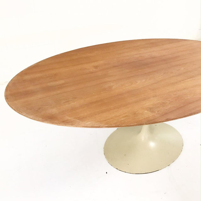 Exquisite Vintage Eero Saarinen Tulip Table And Egon Eiermann Dining - Eero saarinen tulip table and chairs