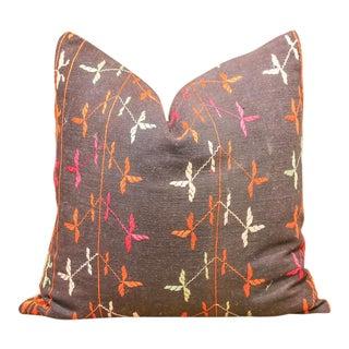 Nikki Bagh Phulkari Pillow For Sale