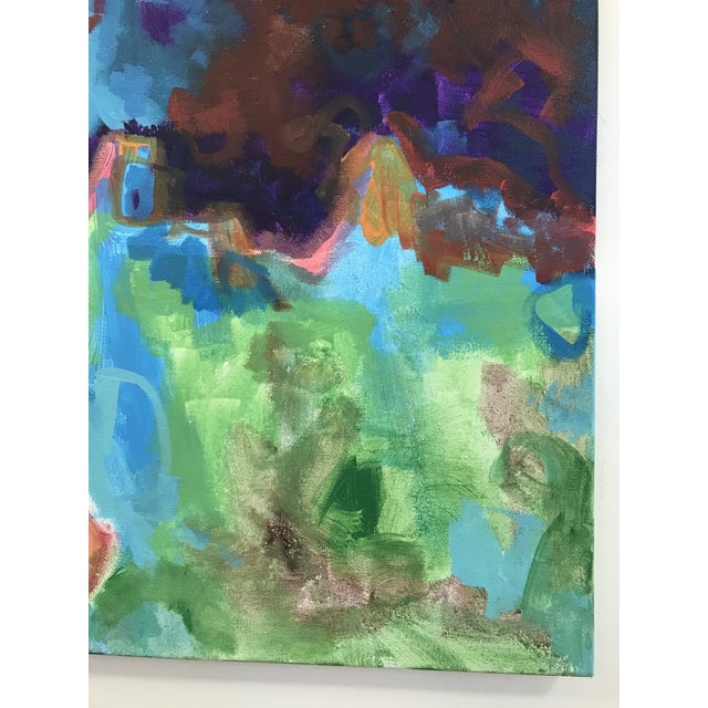 2010's Contemporary Cow Acrylic Painting by David Warmenhoven For Sale - Image 6 of 9
