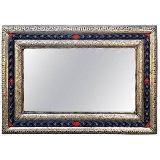 Marrakech Morocco Blue Resine Mirror