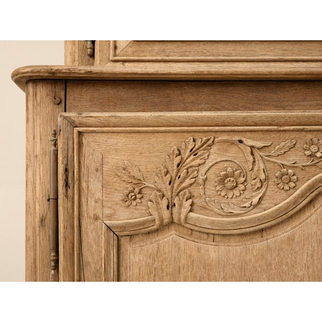 18th C. Antique French Oak Normandy Buffet For Sale - Image 9 of 10