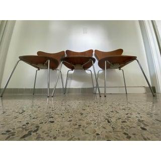 Series 7 Chair by Arne Jacobsen for Fritz Hansen Original 1967 Preview