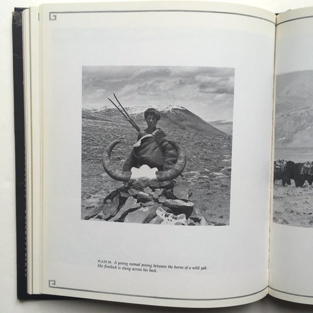 """White """"A Portrait of Lost Tibet"""" Cultural History Vintage 1980 1st Edtn Photography Book For Sale - Image 8 of 10"""
