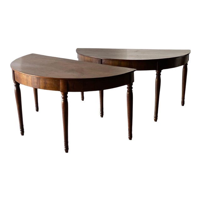 19th Century Italian Console Tables - a Pair For Sale