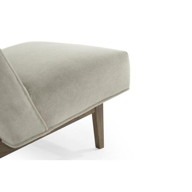 Classic Slipper Chairs by Jens Risom C. 1950s - a Pair For Sale - Image 9 of 12