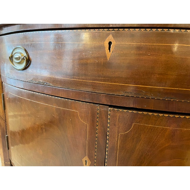 Brown 1876 Hepplewhite Mahogany Sideboard For Sale - Image 8 of 10