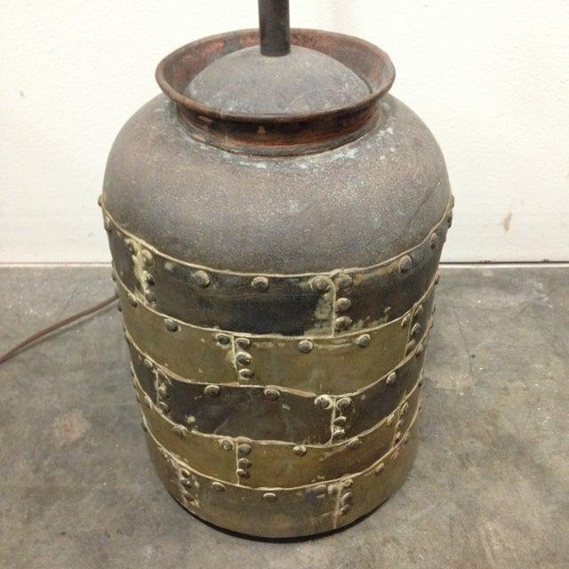 Vintage Chapman Brutalist Lamp For Sale - Image 10 of 11