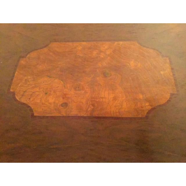 1960s 1960s Traditional Mahogany Tray Table Top Coffee Table For Sale - Image 5 of 10