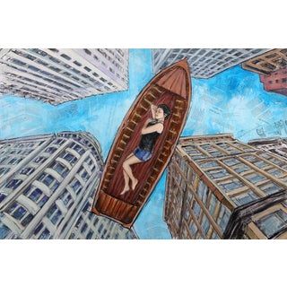 """The Contemporary World"" Original Artwork by Robert Lebsack For Sale"