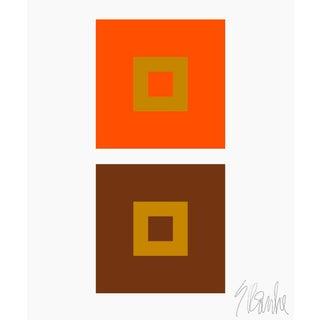 """Dynamic Color Change No. 3 Fine Art Print 11"""" X 14"""" by Liz Roache For Sale"""