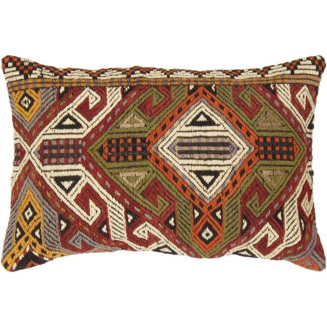 Vintage Turkish Kilim Pillow - Image 1 of 2