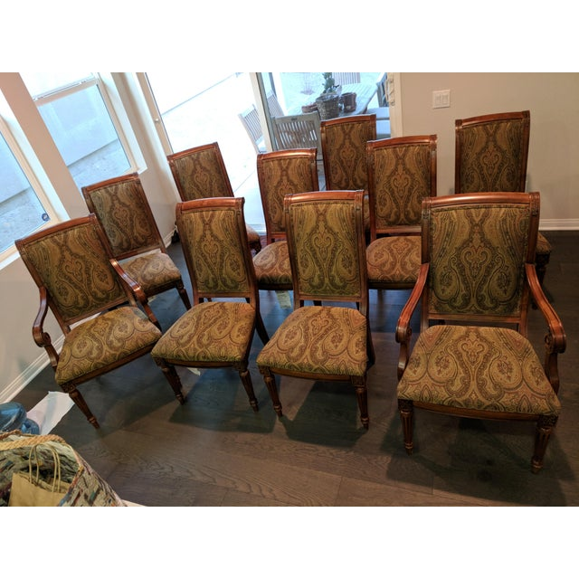 Meticulously cared for. MOVING SALE! Excellent Condition. Adison Dining Chair - includes 2 Adison Arm Chairs and 8 Adison...