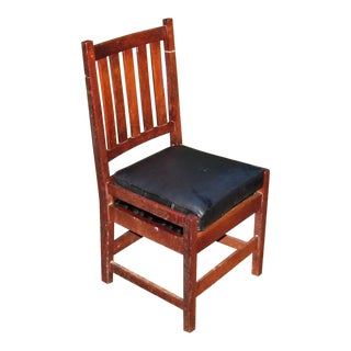 Antique Gustav Stickley Side Chair For Sale