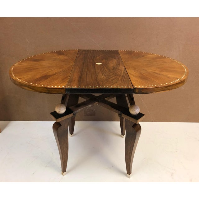 Art Deco 1930s French Art Deco Adjustable Table For Sale - Image 3 of 11